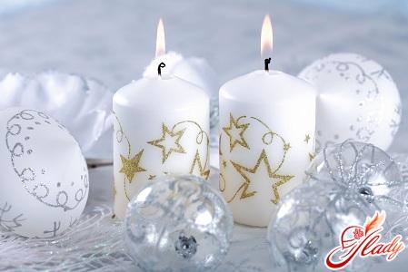 свічки своїми руками до Нового року