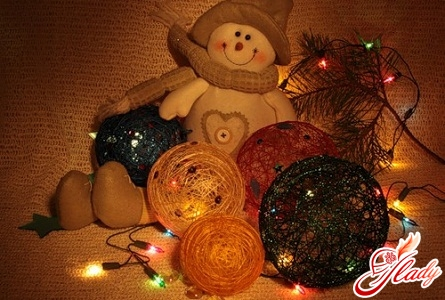 ideas of the new year decoration of the table