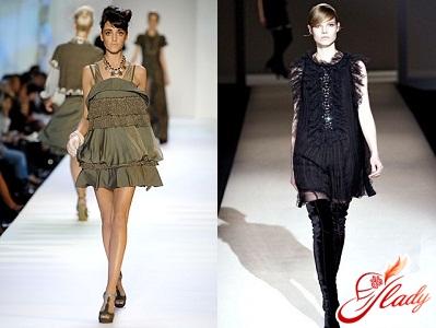 fashionable autumn dresses 2011
