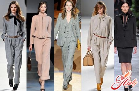 fashionable office clothing style