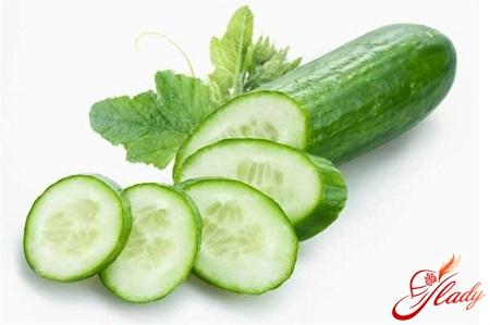 three-day cucumber diet