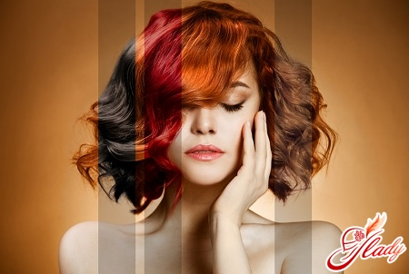 correct selection of hair color