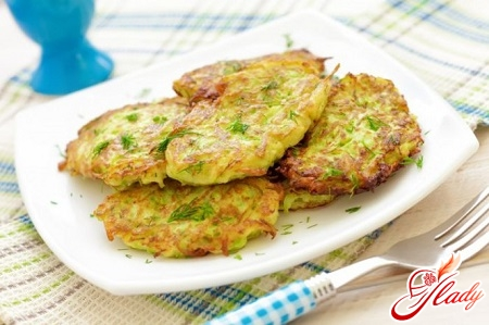 delicious squash pancakes with apples