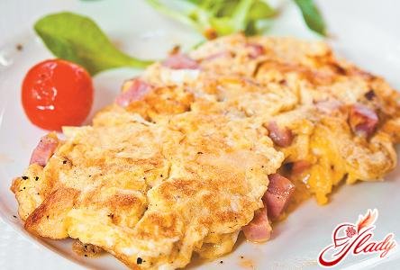 omelet recipe in a frying pan