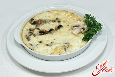 omelette with mushrooms recipe