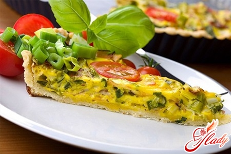 omelet with vegetables recipe