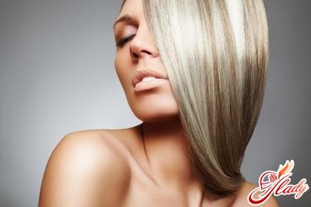 освітлення волосся народними методами