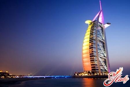 готель вітрило Дубаї