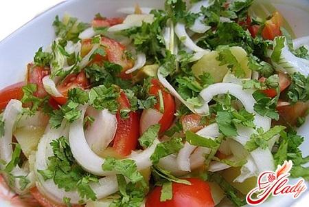 vegetable puff salad
