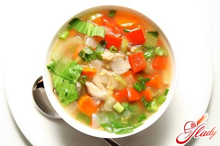 features of cooking vegetable soup