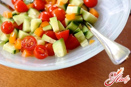 vegetable slimming salad
