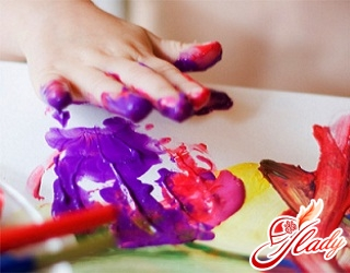 finger paints for babies up to a year