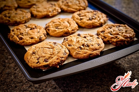 cookies with chocolate