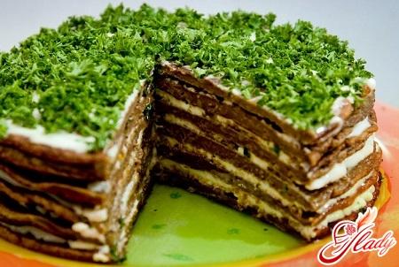 hepatic pork liver cake
