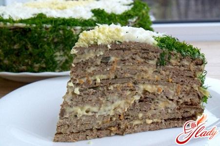 delicious hepatic pork liver cake