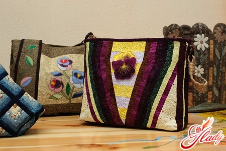 patchwork sewing bags