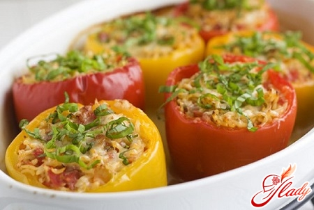recipes stuffed with pepper