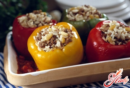 tasty stuffed pepper