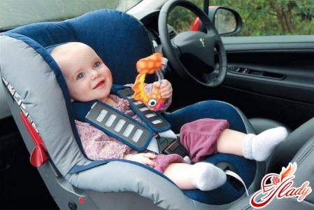 transportation of children under 12 in the car