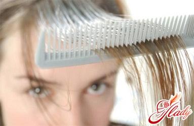 себорея волосистої частини голови