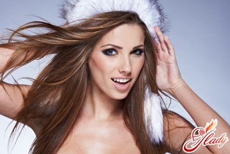 Hair care in winter