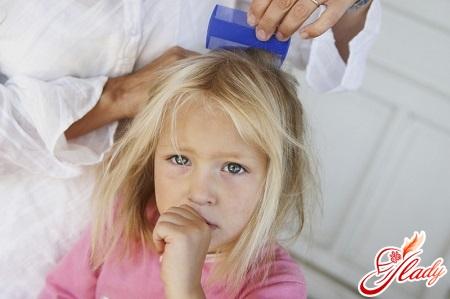 dandruff in a child treatment