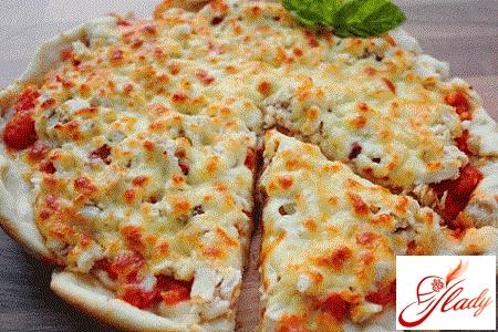 начинка для піци з куркою