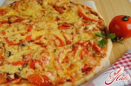 як приготувати піцу з куркою
