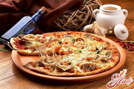 pizza with mushrooms recipe