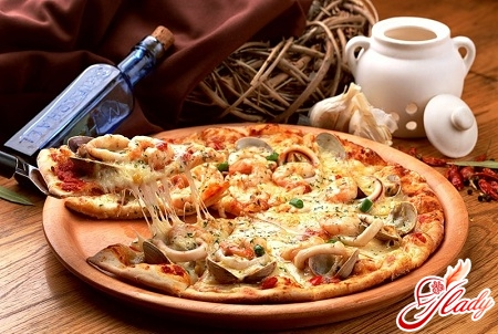 pizza with shrimp recipe