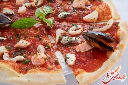 recipe pizza with seafood