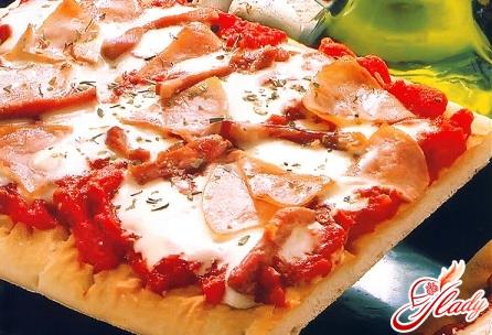 pizza with ham recipe