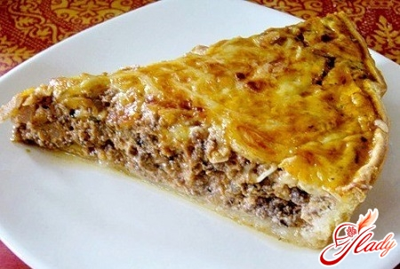 pie with meat filling