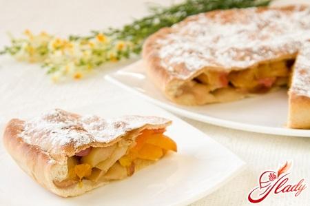 пісочний яблучний пиріг
