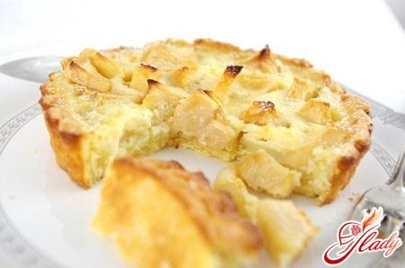 apple pie on kefir