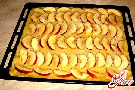 delicious lean pie with apples