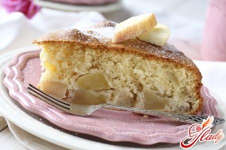 рецепт пирога з яблуками в мультиварці