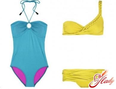 Swimsuits Diane von Furstenberg and La Perla