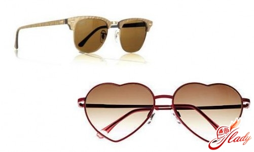 Ray ban and H & M glasses