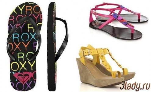 Roxy flip flops, sandals Diane von Furstenberg, sandals Juicy Couture