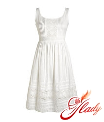 35ae6910486a Čakanie na leto  biele krajkové šaty