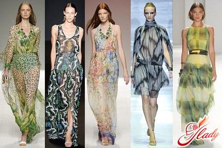 шифонові сукні літо 2012