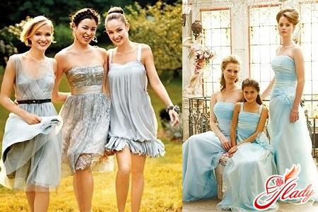 модне плаття подружки нареченої 2012