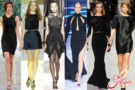 how to wear a black knitted dress