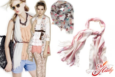 how beautifully to tie a scarf