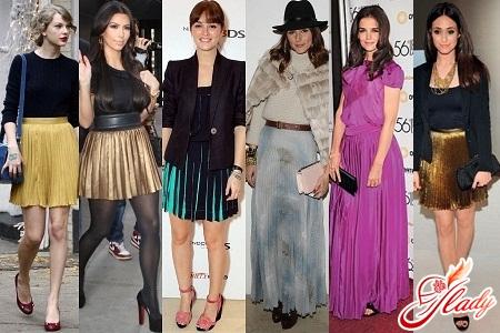 skirt pleated 2012