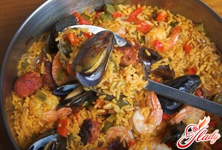 pilaf from mussels