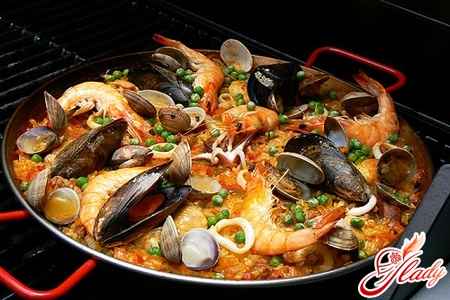 pilaf with mussels
