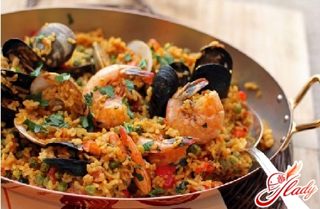 pilaf with mussels recipe