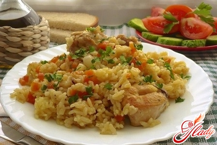 pilaf with chickpeas